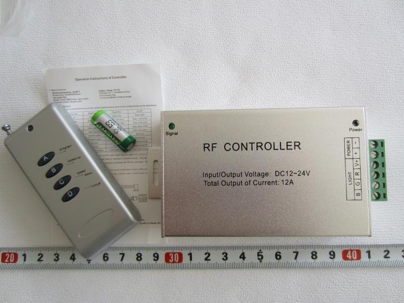 RF RGB Kontroleris iki 20 m veikimo a