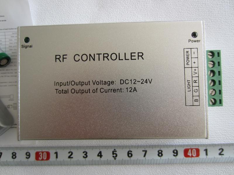 RF RGB Kontroleris iki 20 m veikimo c
